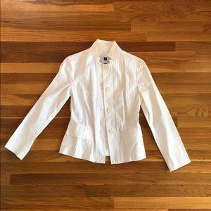 Gap: White blazer jacket